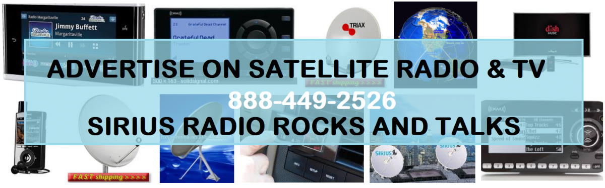 Advertise on Sirius XM   888-449-2526